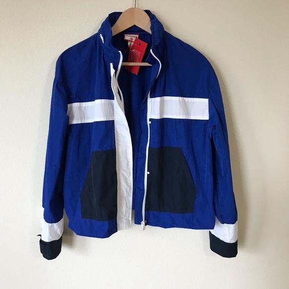 08c1934b244 Hunter for Target windbreaker crop jacket